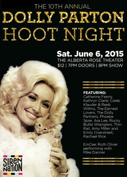 10th Annual Dolly Parton Hoot Night