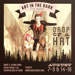 """A-WOL Dance Collective presents ART in the DARK:  """"Drop of a Hat"""""""