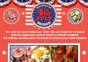July 4th Brunch @ EastBurn