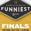 portland's funniest person finals @ Helium Comedy Club 2015