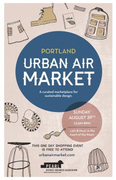 2015 Urban Air Market In Portland's Pearl District