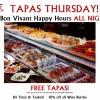 Tapas Thursday