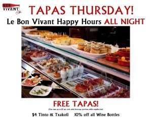 Tapas Thursday