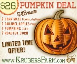 Pumpkin Deal Krugers