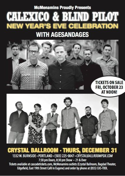 New Years Eve Crystal Ballroom