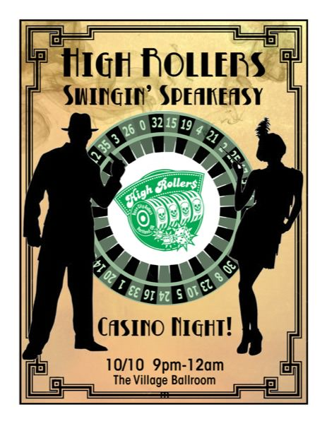 High Rollers Swingin' Speakeasy – Post Bout Afterparty!
