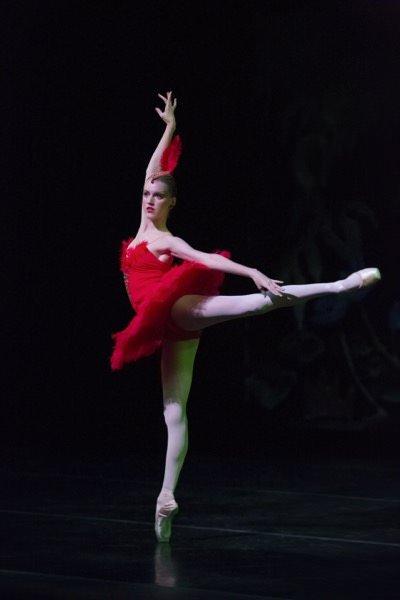"""""""Firebird"""" Performance,The Portland Ballet, Photo by Blaine Truitt Covert"""