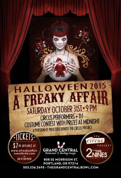 Halloween 2015: A Freaky Affair