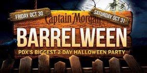 Barreleween Halloween Party