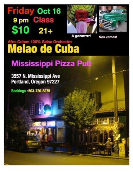 Havana Nights Salsa Dance w/ Cuban Orchestra Melao de Cuba