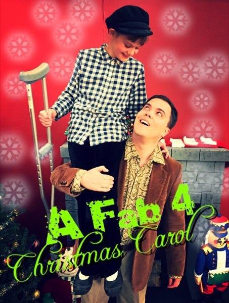 Fab 4 Christmas Carol