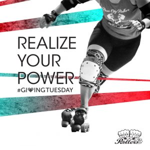 Giving Tuesday Rose City Rollers