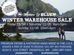 Winter Warehouse Sale Agave Denimx