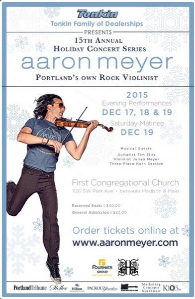 Aaron Meyer 2015 Portland Holiday Concert