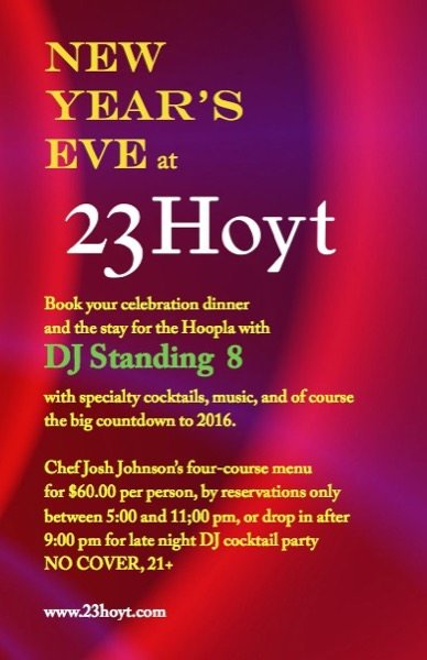 Hoyt New Year's Eve