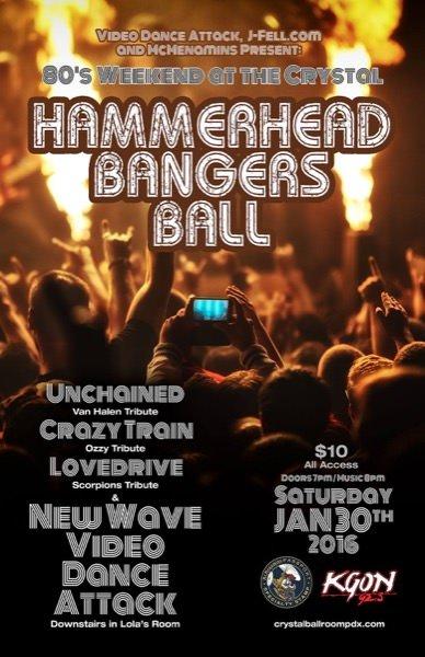 Hammerhead Bangers Ball Jan 30