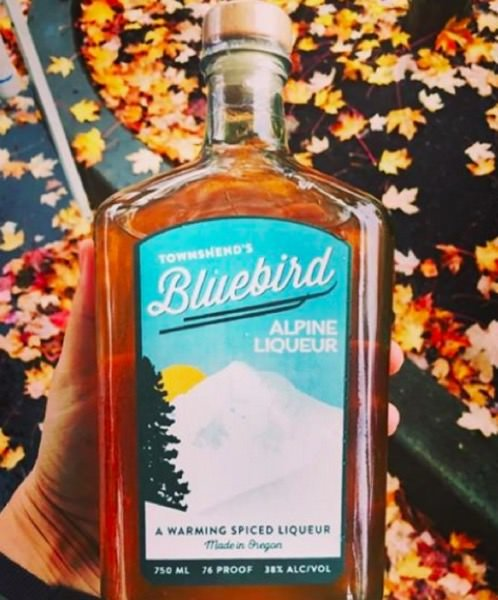Bluebird Alpine Liqueur