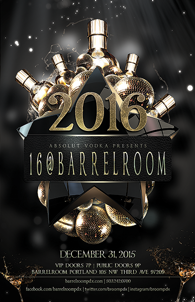 Barrel Room NYE 2016