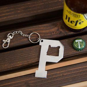 Portland P bottle opener