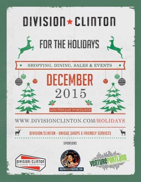 Holiday Happenings at Division/Clinton