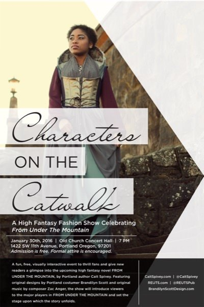 Characters on the Catwalk: a High Fantasy Fashion Show Celebrating FROM UNDER THE MOUNTAIN