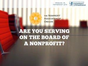 Nonprofit Organization Board Member Training