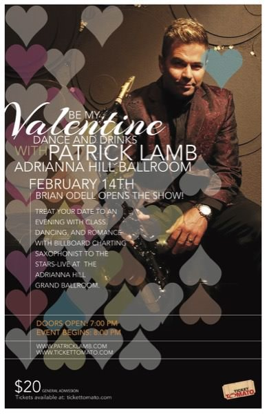 Be My Valentine with Patrick Lamb