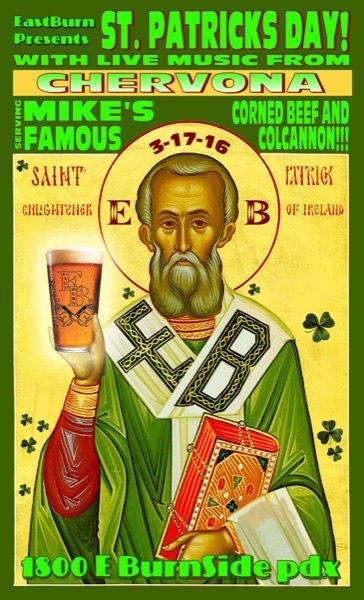 EastBurn Patrick's Day