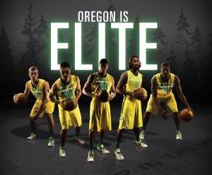 Elite Eight Oregon Ducks