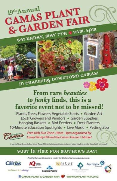 2016 Camas Plant and Garden Fair