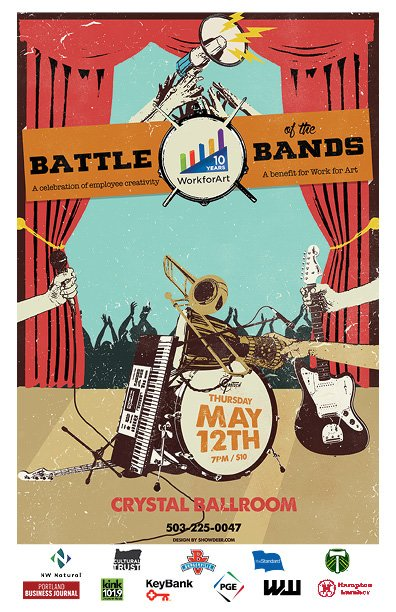 Battle of the Bands Postcard - 4-12-16