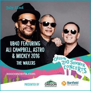 UB40 featuring Ali Campbell, Astro & Mickey 2016