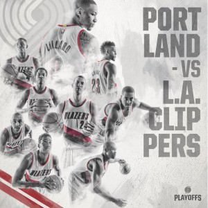 Blazers vs Clippers Playoffs