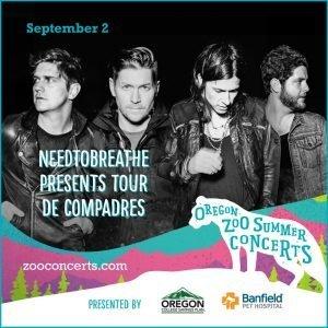 NEEDTOBREATHE presents TOUR DE COMPADRES
