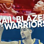 trail blazers warriors playoff schedule