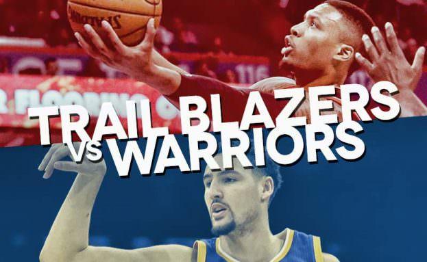 trail blazers-warriors - photo #4