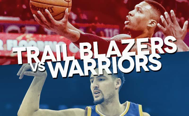 trail blazers warriors playoff schedule