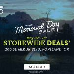 Evo Portland Memorial Day Sale