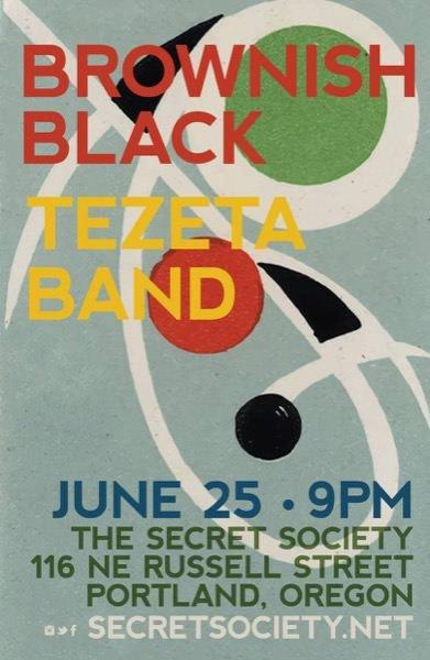 Brownish Black Tezeta Band