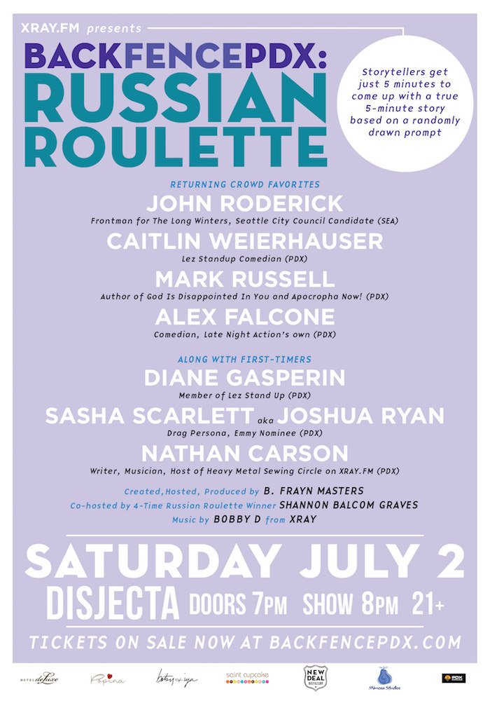 Russian Roulette July 2