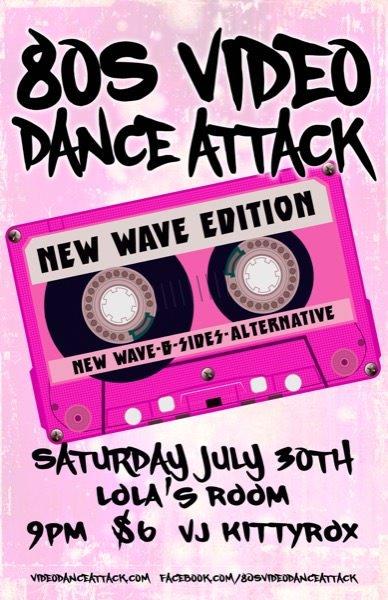 80s Video Dance Attack