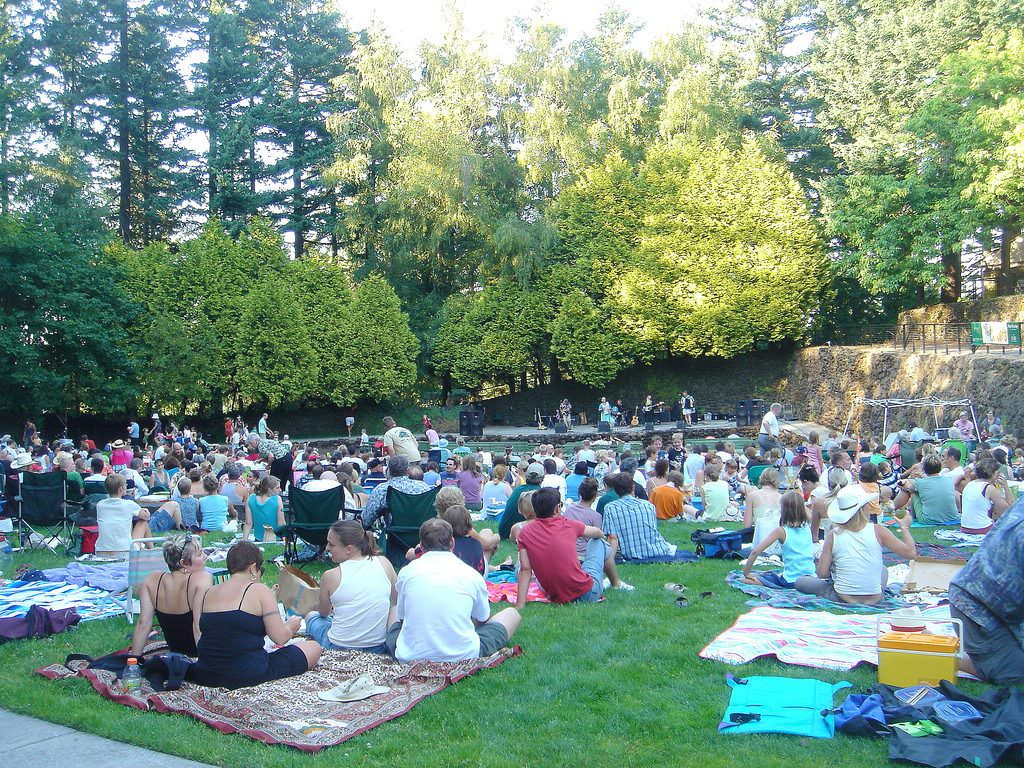 2016 Portland Concerts In The Park Schedule Free July August Portland Events Jobs
