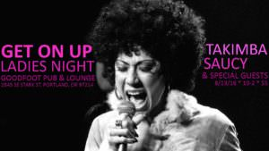 Get on Up @ The Goodfoot