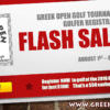 Greek Open Golf Tournament Flash Sale