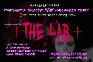 THe Lab Halloween Party