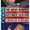 The Great Debate @ EastBurn