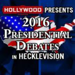 Hollywood Theatre and PBR Present: The 2016 Presidential Debates in Hecklevision! at The Secret Society