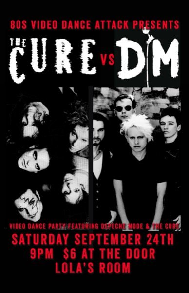 80s VDA Presents: The Cure VS Depeche Mode