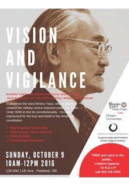 Vision & Vigilance with the Oregon Nikkei Legacy Center: