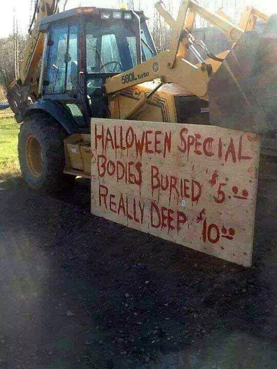 Bare Bones Halloween